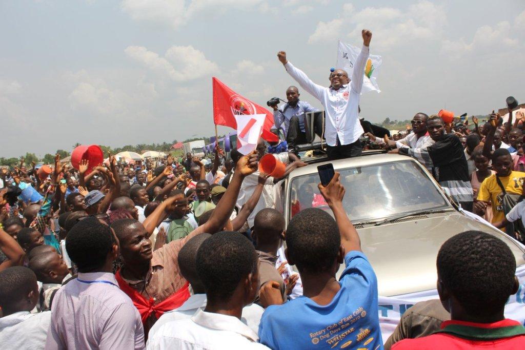 Accueilli en triomphe à Kananga, Claudel Lubaya veut réconcilier le Kasaï