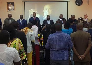 A Kinshasa, Ensemble présente sa plateforme et dégonfle la polémique sur la nationalité