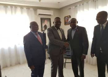 Kamerhe rencontre Gizanga: vers une large coalition PALU-UNC-MLC