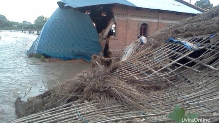 Uvira: 5 morts et 9 blesses suite aux pluies diluviennes