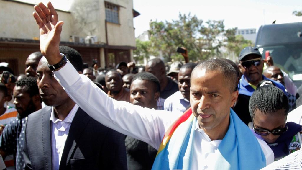 """""""Nous n'allons pas laisser un seul homme écraser tout un peuple"""", promet Moïse Katumbi"""