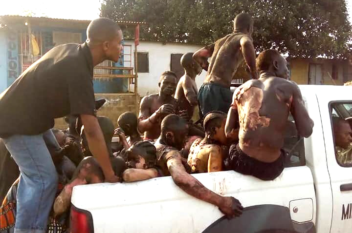 Collision en RDC: 53 morts selon le nouveau bilan officiel
