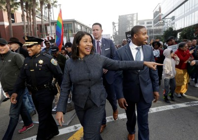 Image result for San Francisco - London Breed Becomes The First Black Female Mayor