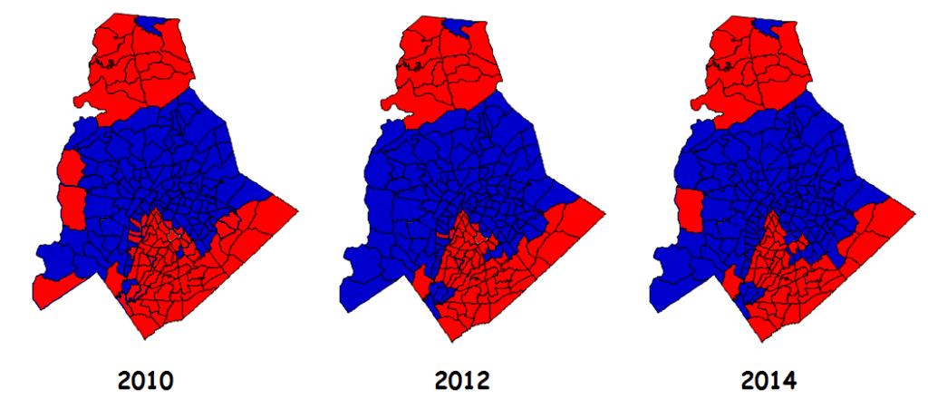 mecklenburg precinct maps