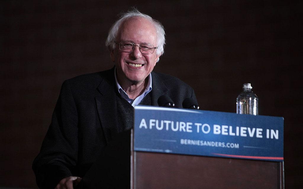 Bernie Sanders in January 2016 by Gage Skidmore