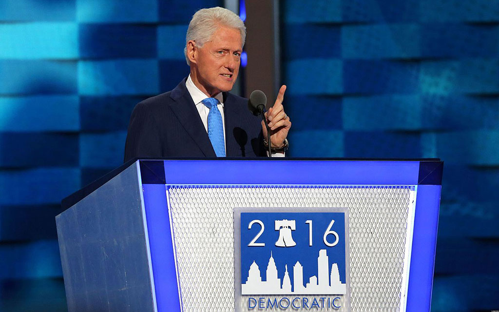 Day two of the Democratic National Convention: until the last Big Dog dies