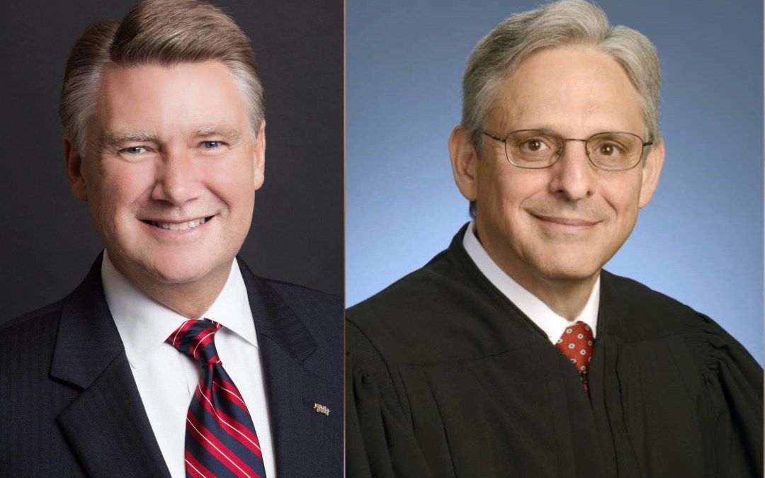 Mark Harris and Merrick Garland