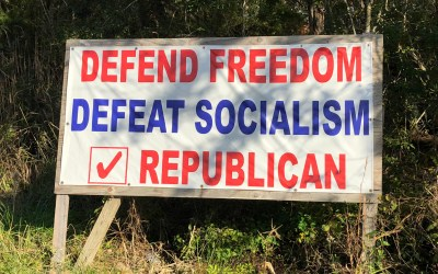 The Republican disinformation dystopia