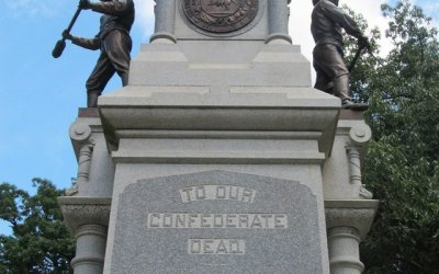 Monuments, reactions, and elections