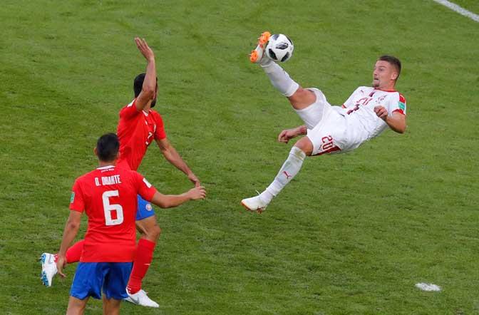 ПРОЈЕKТИЛ KОЛАРОВА ЗА РАДОСТ СРБИЈЕ: Орлови сјајни против Kостарике на премијери на Светском првенству! (ФОТО) 1