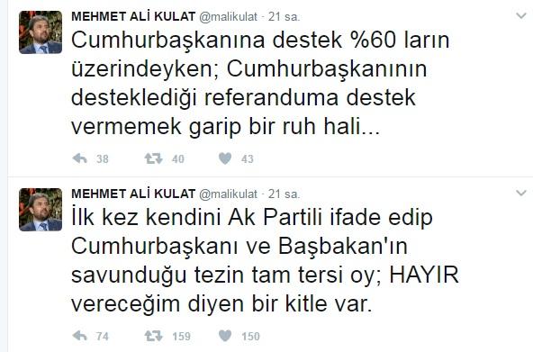 AKP'li anketçi: AKP'de 'hayır' vereceğim diyen bir kitle var