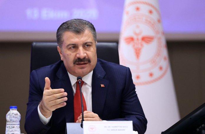 """Sağlık Bakanı Fahrettin Koca: """"Bugün 110 milyon dozu aştık"""""""