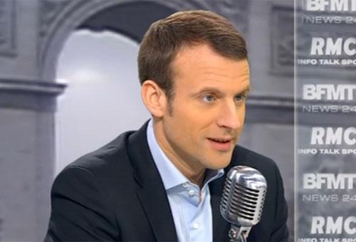 Macron démissionne