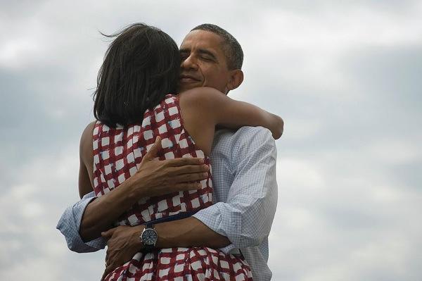 Barack michele obama2012