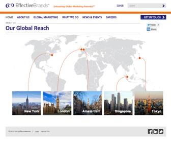 EffectiveBrands Global reach