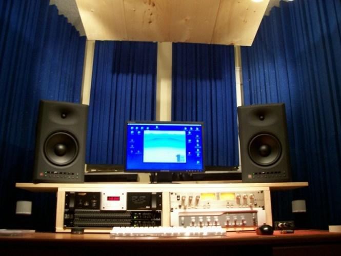 home recording studio page 1