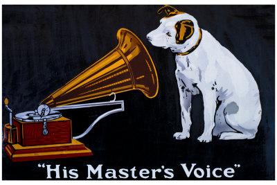 His Masters Voice Phonofone II Polkadot