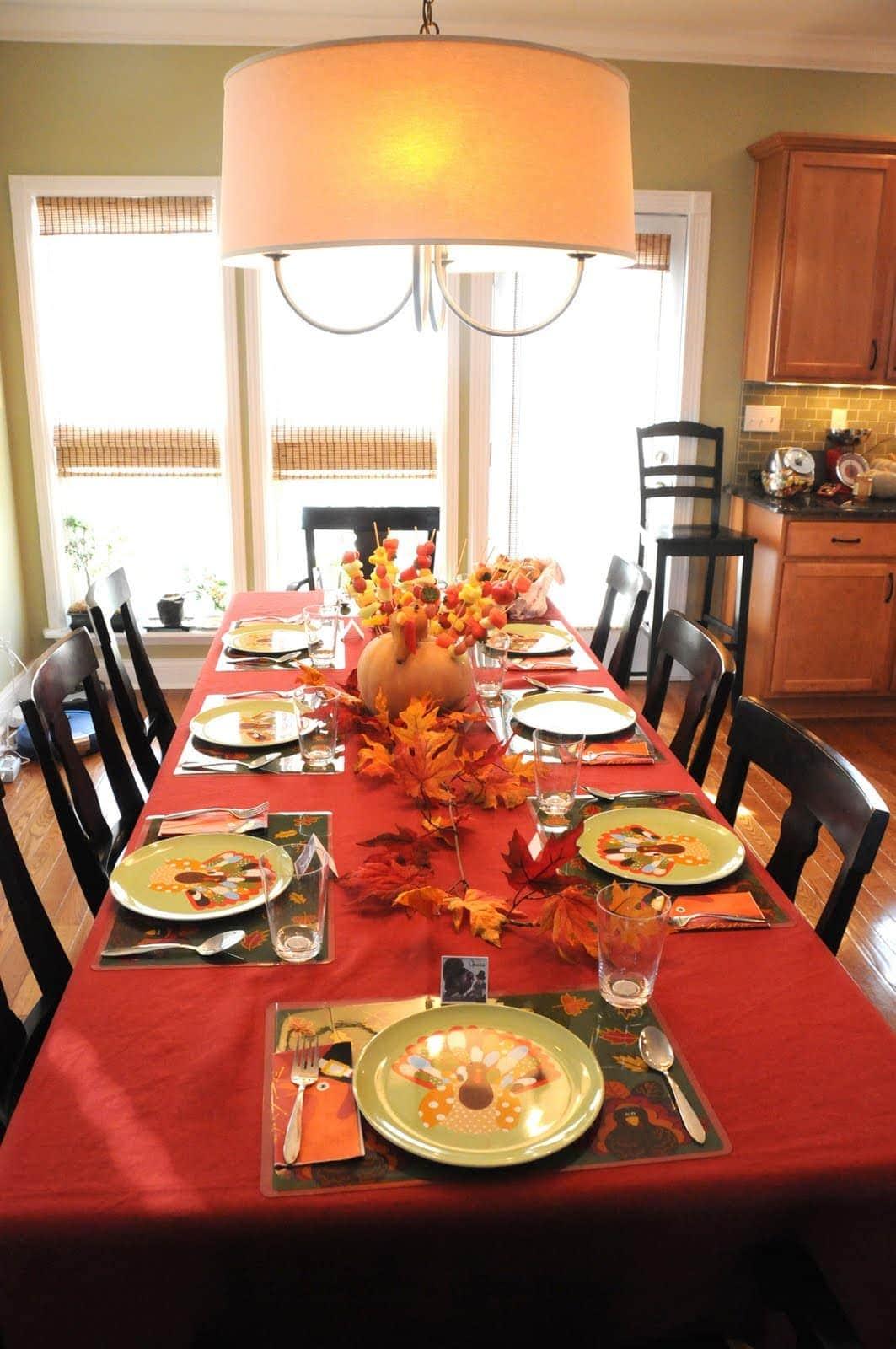Thanksgiving Decor The Polkadot Chair