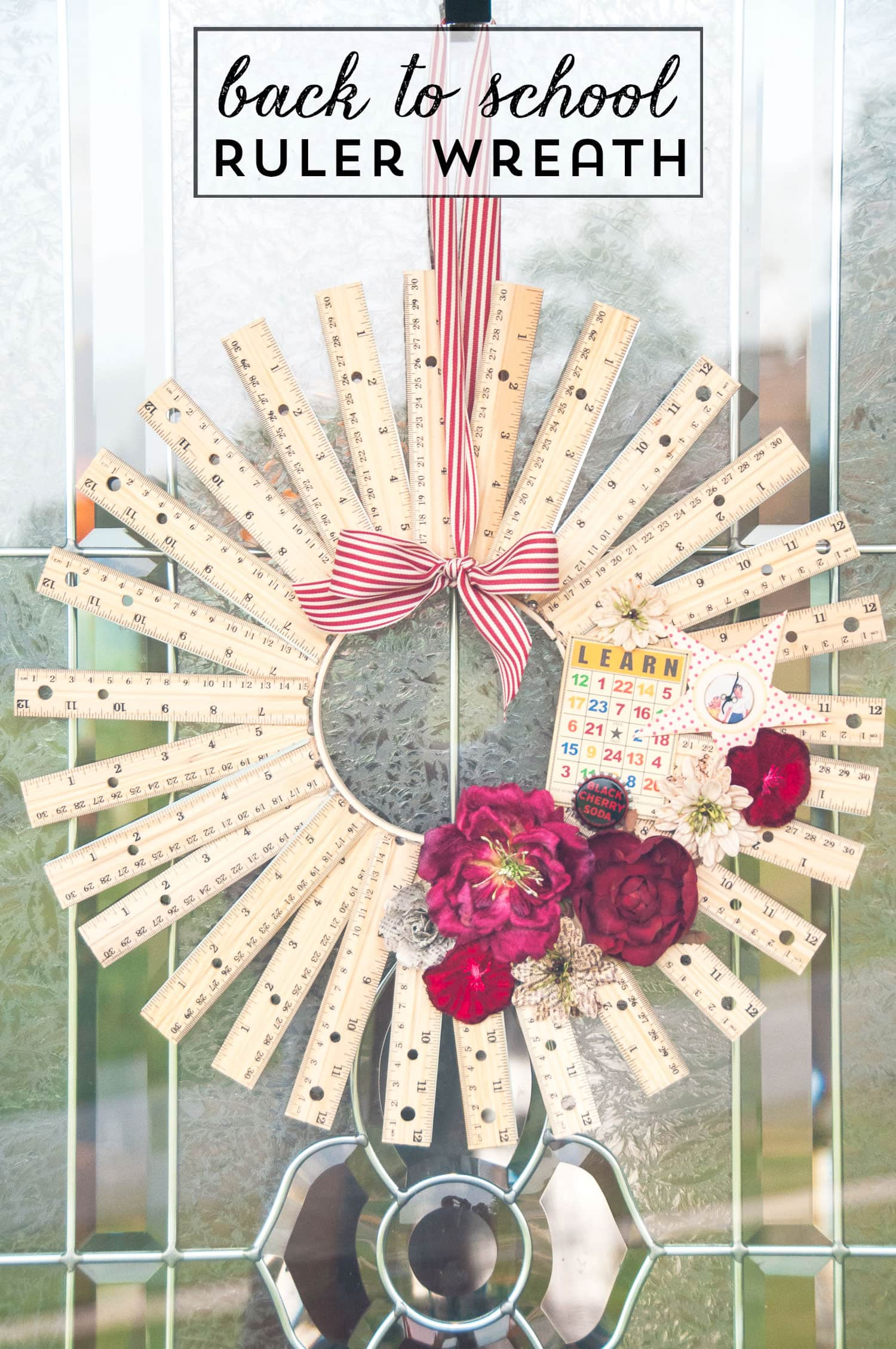 How To Make A Ruler Wreath