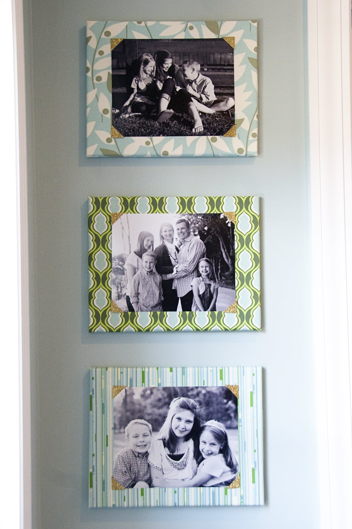 Family Picture Wall Decorating Ideas