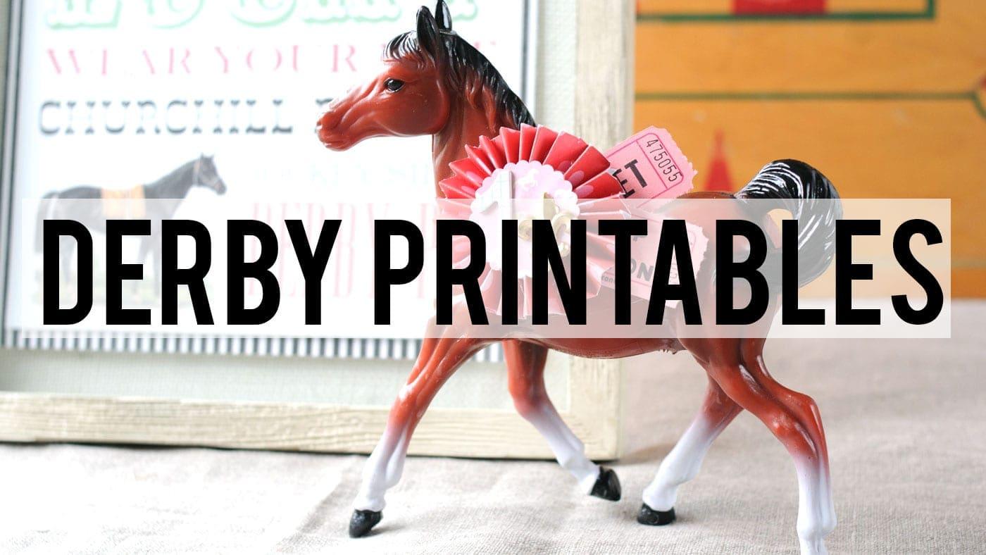 Kentucky Derby Printables