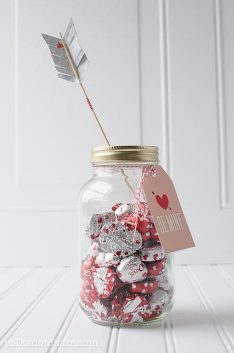Snowman Mason Jar Craft Gift Idea