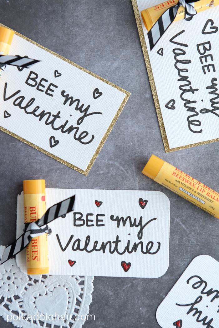 Bee My Valentine Free Printable Valentines