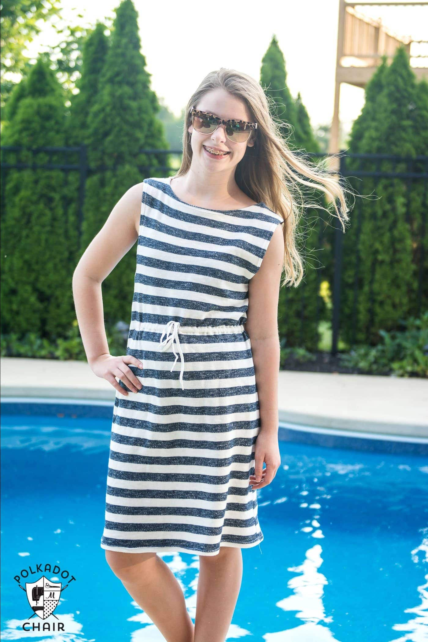 Summer Sundress Patterns And Easy Swimsuit Cover Up