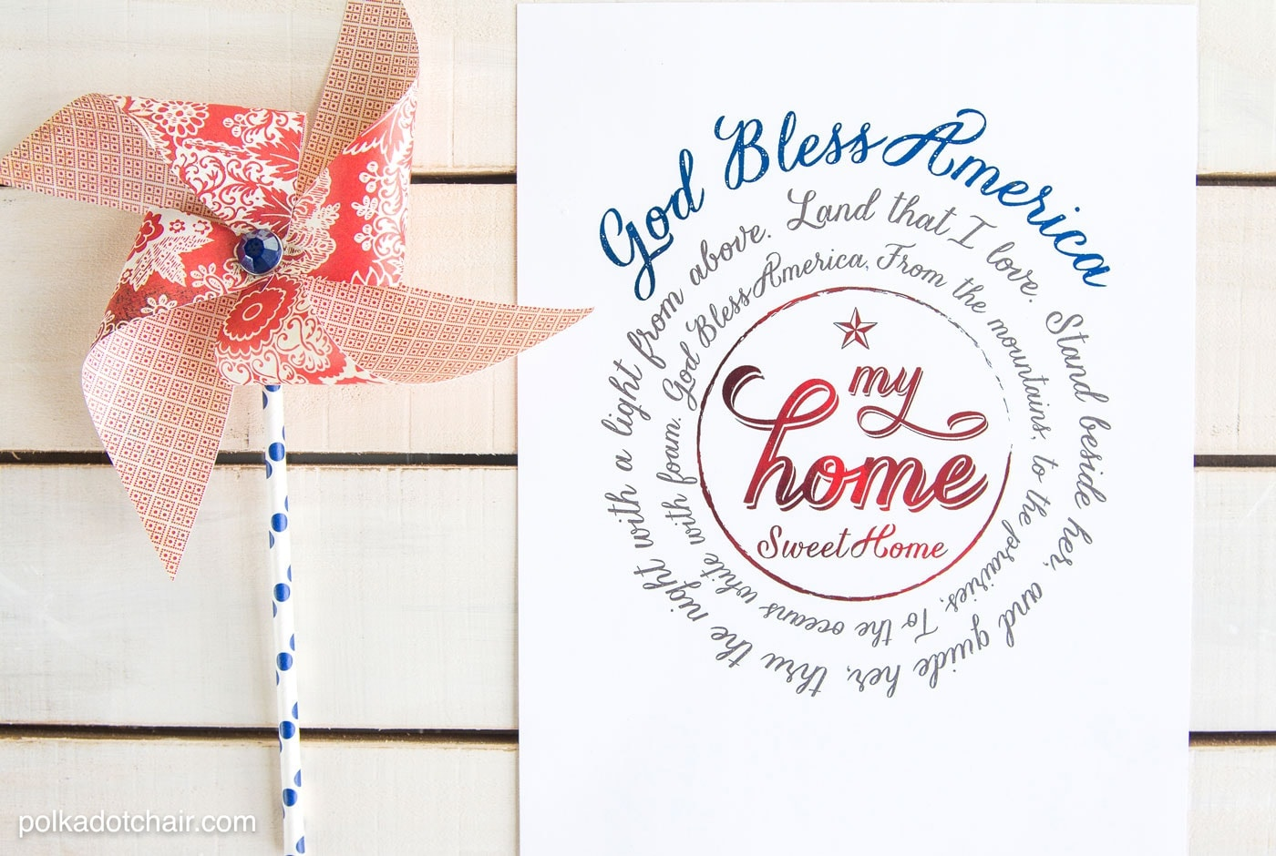 Foil Ready 4th Of July Printables
