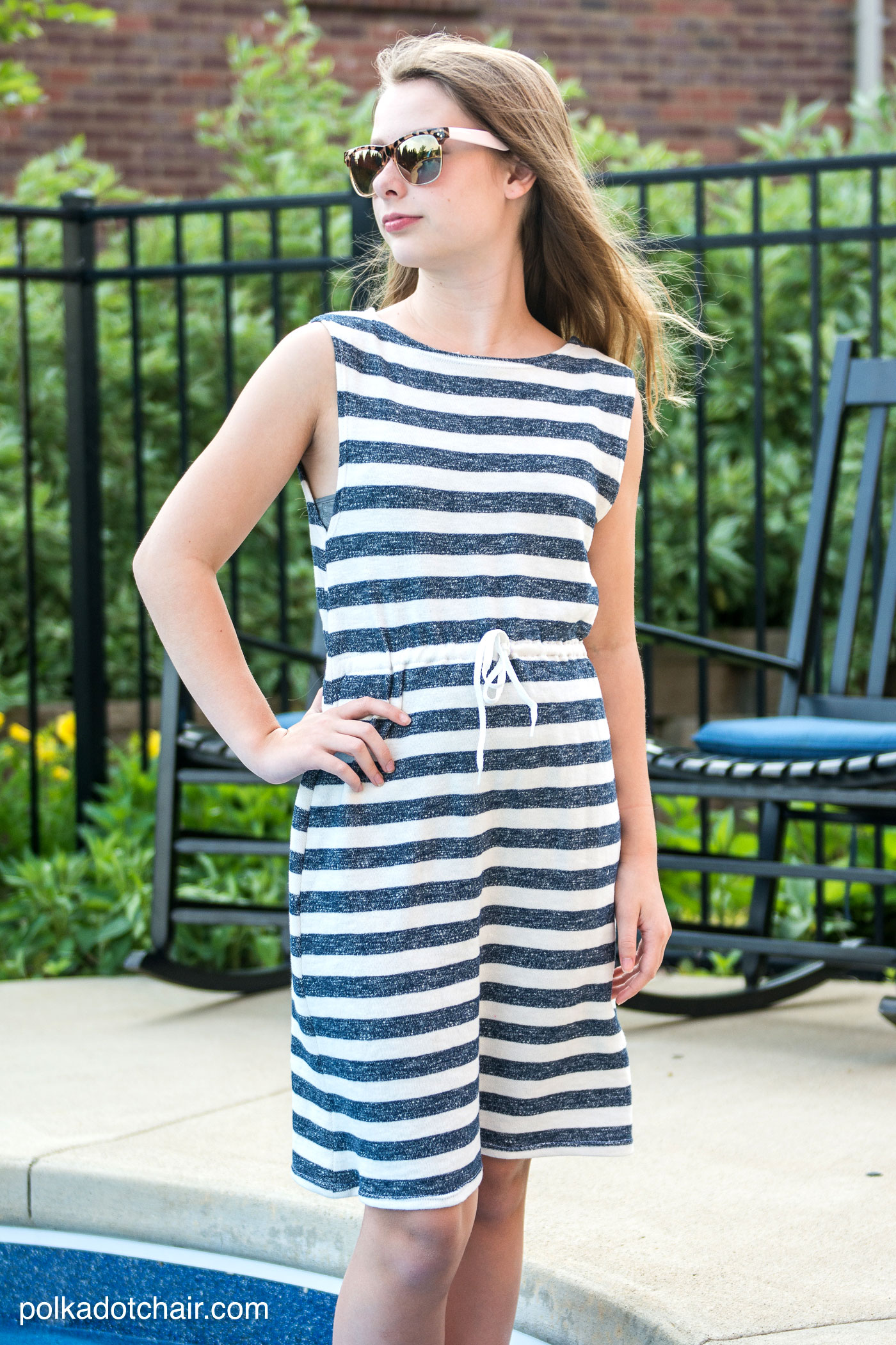 Super Simple Swimsuit Cover Up Sewing Tutorial