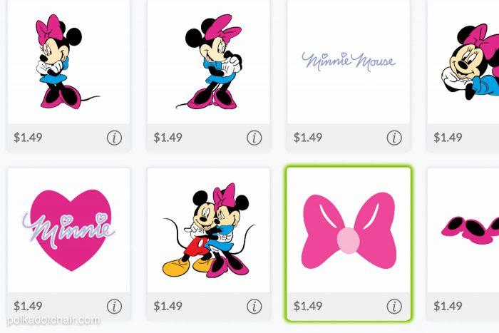 Minnie Mouse Vinyl