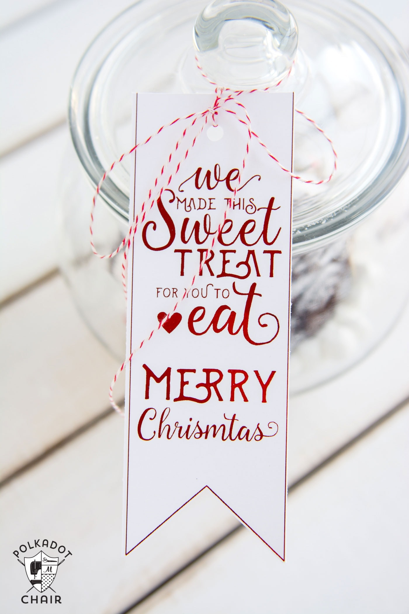 Cute DIY Gingerbread House Snow Globes And Free Printable