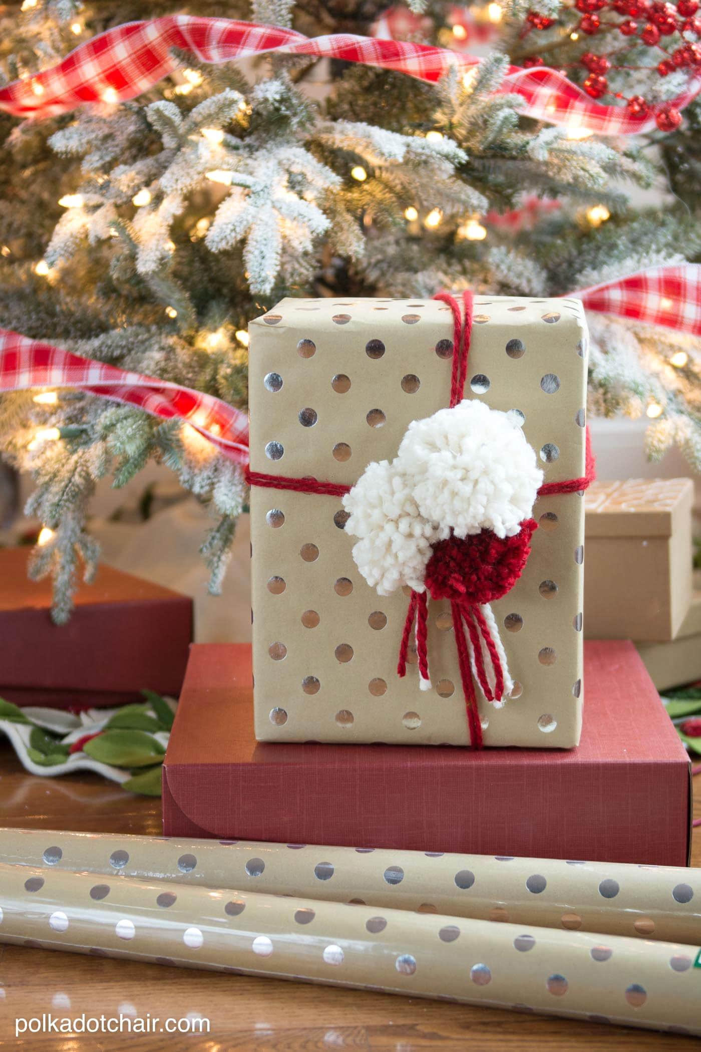 3 Simple And Creative Gift Wrap Ideas The Polka Dot Chair