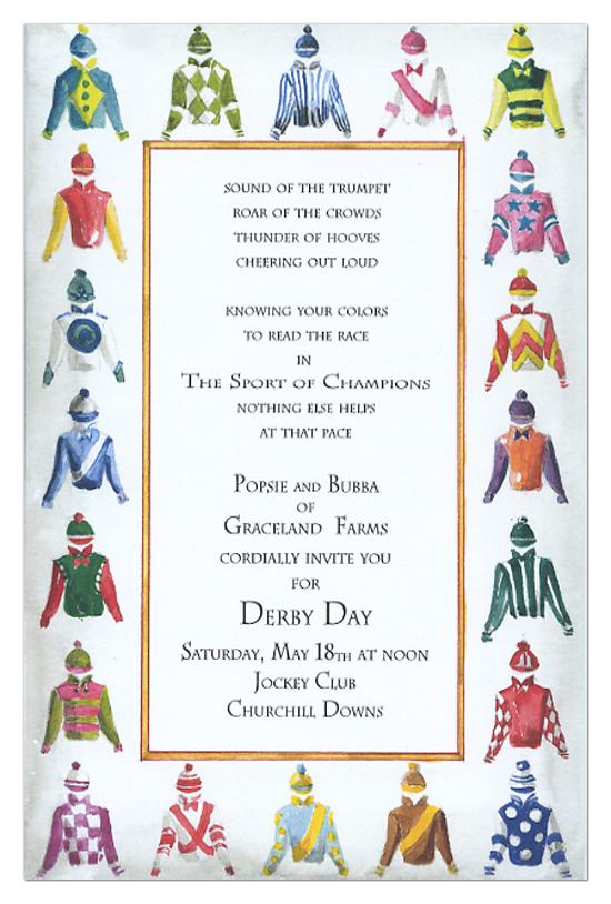 Derby Clothing Invitation