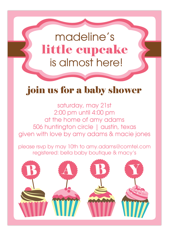 Personalized Baby Invitations