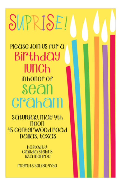 party invitation wording ideas polka