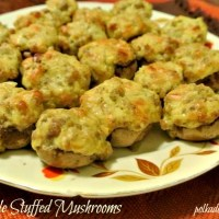 Please Vote For My Stuffed Mushrooms