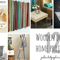 12 Dowel Projects For Your Home