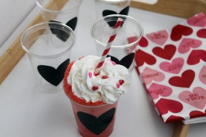 polka dots and picket fences | valentine floats