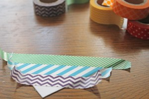washi tape | polka dots and picket fences