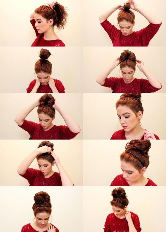 easy-messy-bun