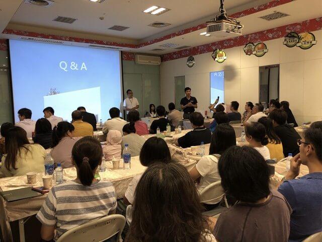 良悅建築日前舉行建案說明會,是屏東首次有建商舉辦說明會。