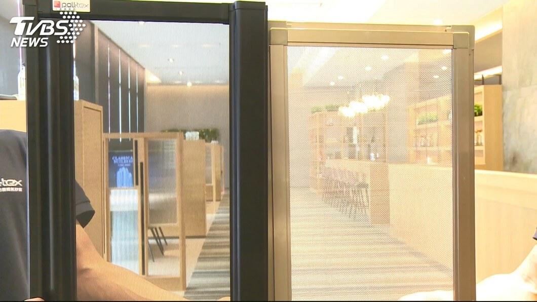 Poll-tex防霾紗窗和一般紗窗相比,透視度更佳
