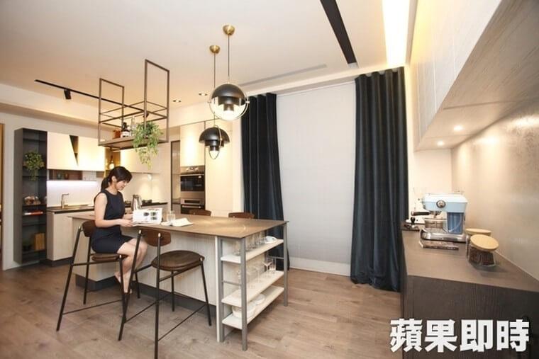 特大型長桌中島為生活中心【55ways】讓該空間全客製化