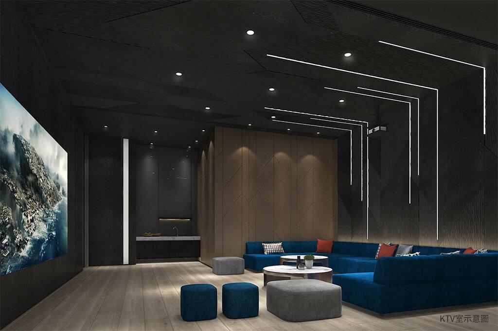 精銳IN未來公設空間KTV室