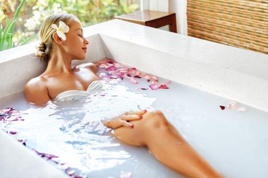 kąpiel na bazie lawendy
