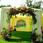 wedding arch flowers cumbria