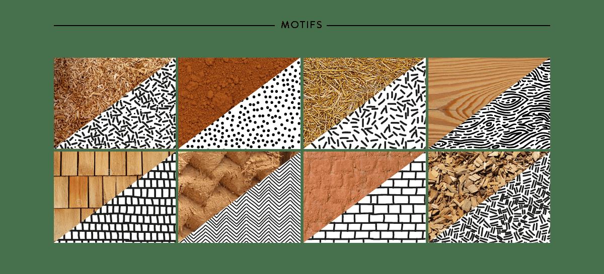 10i2la Architecture - les motifs, le répertoire de formes