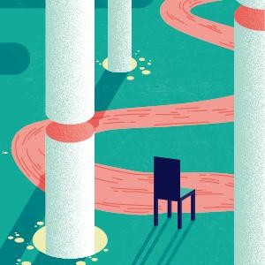 Nuits de la mayenne illustration chaise