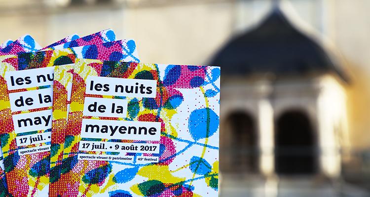 Les flyers des Nuits de la Mayenne 2017